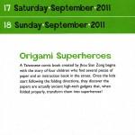 Origami Superheroes
